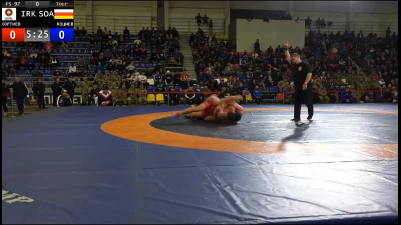 97 кг за бронзу Знаур Коциев (Алания) – Шота Кортиев (Иркутск) Гусова2019