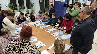 LIVE Бердянск Выборы Наблюдаем за подсчётов голосов на одном из участков Часть 2