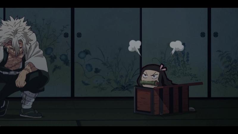 Nezuko Refuses to take Blood and Pouts Angrily Demon Slayer