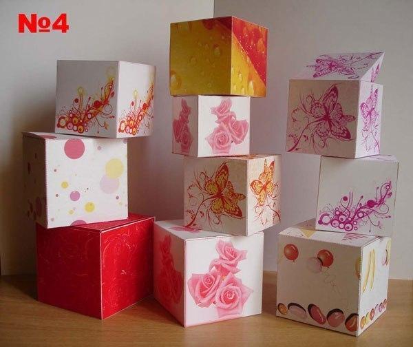 Шаблоны коробочек