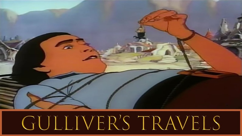 Gulliver's Travels 1939 Full Length Animated Feature