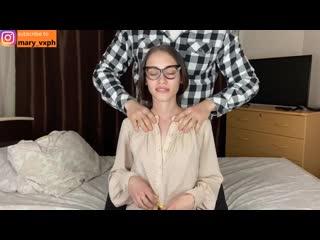 Массаж и большой член для сексуальной молодой мачехи - maryvincxxx порно, секс,