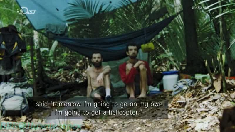 Беар Гриллс по стопам выживших Джунгли 1 серия 720p