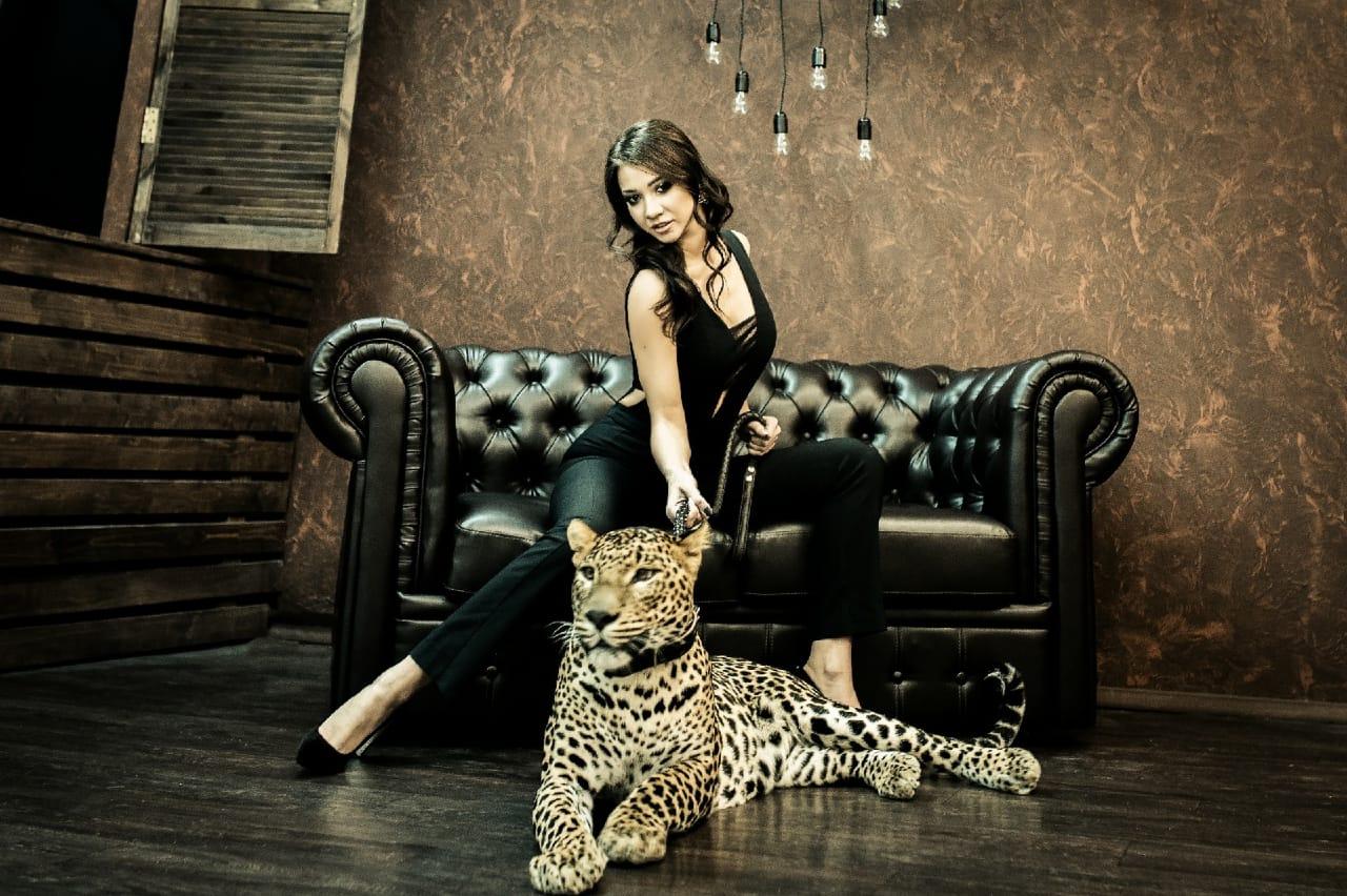 Афиша Саратов Фотовстреча с леопардом Цезарем