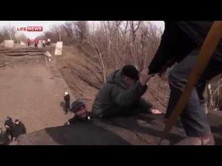 ВСУ взорвали последний автомобильный мост под Луганском