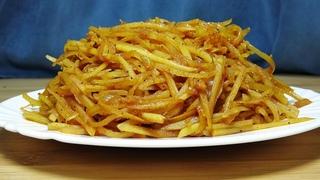 Салат, как в настоящем корейском ресторане! Ваши гости ни за что не догадаются, из чего он сделан