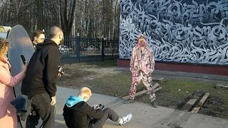 ПОКРАС ЛАМПАС 16 апреля 2021 в Подлипках