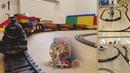 Big Model Railway with Steam Trains | Огромная Железная Дорога с моделями Паровозов