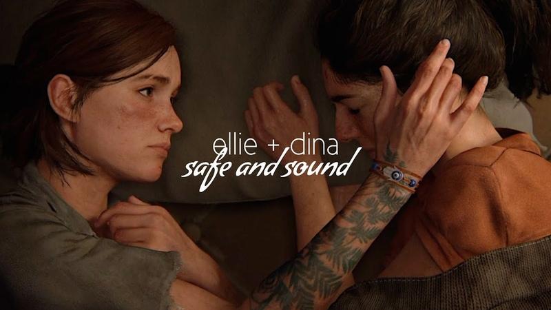 Ellie and dina safe and sound