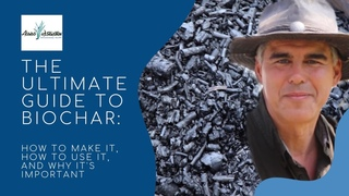 THE ULTIMATE GUIDE TO BIOCHAR: how to make it, how to use it, and why it's important