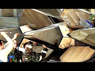 F-22 Raptors Special Maintenance Training Wearing Chemical Protective Gear + Takeoffs