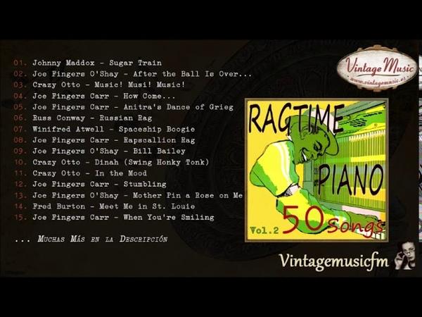 50 Piano Bar Ragtime Songs Full Album Álbum Completo Vol 2 Honky Tonk