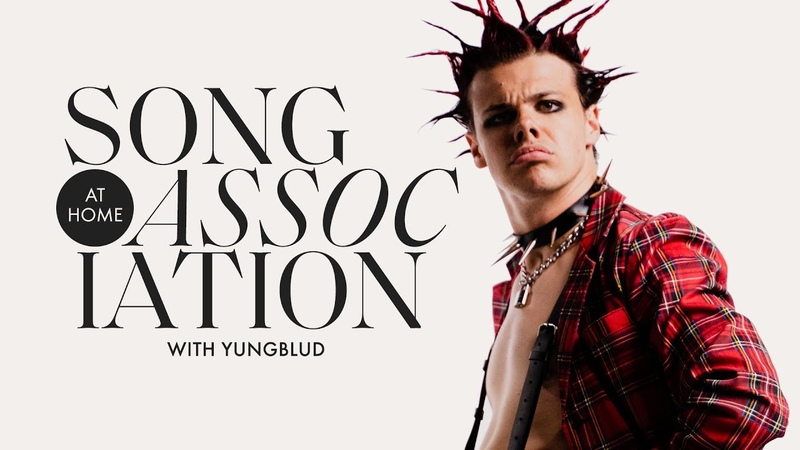 YUNGBLUD Sings Willow Smith Billy Joel and James Blunt in a Game of Song Association ELLE