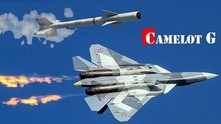 СУ-57 ОБОГНАЛ РАКЕТЫ «ВОЗДУХ-ВОЗДУХ» ИСТРЕБИТЕЛЕЙ США.