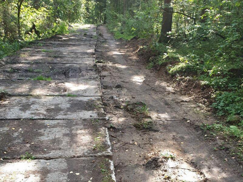 Минэкологии пресекло незаконное строительство дороги на территории памятника природы