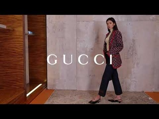 Новая коллекция Gucci // Женский образ в стиле 70х // Фирменный бутик в Лакшери Store // Тренды 2020