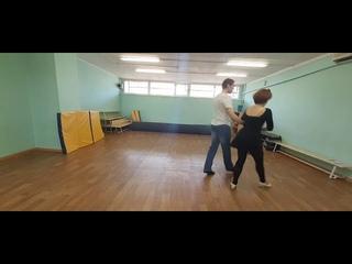 Па де Патинер. Схема танца для обучения.