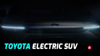 Teaser: New Toyota Electric SUV Concept
