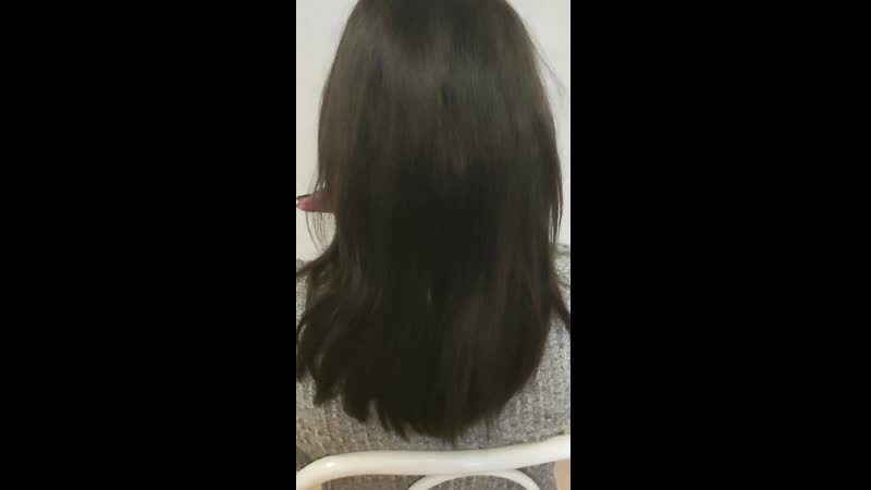 Восстановление волос первая процедура