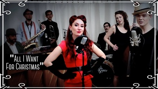"""""""All I Want For Christmas"""" (Mariah Carey) Jazz Cover by Robyn Adele Anderson feat. Von Smith"""
