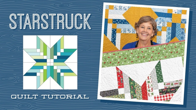 Make a Starstruck Quilt with Jenny Doan of Missouri Star Video Tutorial
