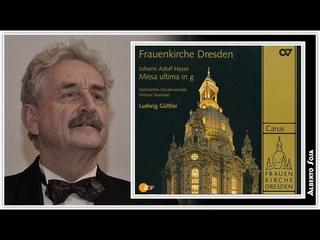 Missa ultima in g. Johann Adolf Hasse (1699 - 1783)
