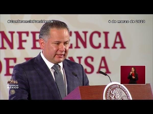 Santiago Nieto titular de la UIF informó sobre las investigaciones contra corrupción e impunidad
