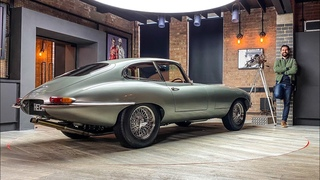 NEW! HELM Jaguar E Type 300hp Restomod - FIRST DRIVE Review!