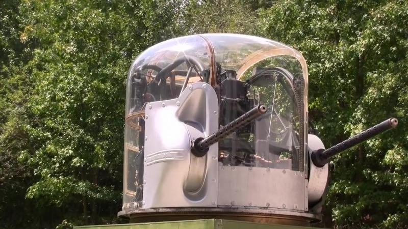 Рабочее место носового воздушного стрелка бомбардировщика B 24