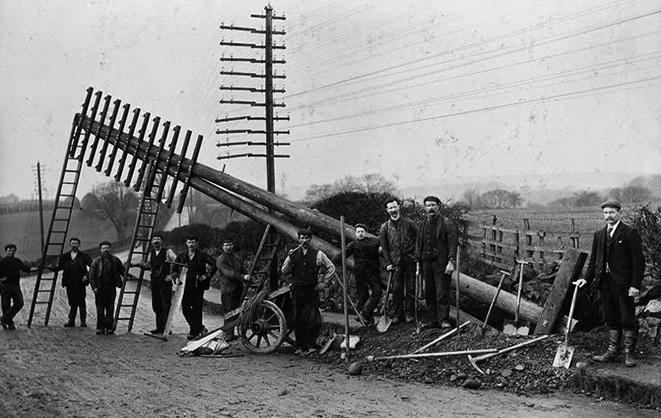 телеграф начало 20 века