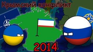 Альтернативный 2014 год. Российско-Украинский конфликт. Крымский вопрос.