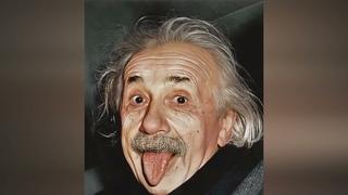 Ожившие фотографии Альберта Эйнштейна при помощи нейросетей