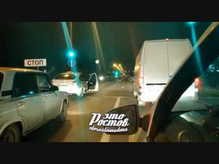 Ночная погоня как в GTA под Ростовом в районе Алмаза  - Это Ростов-на-Дону!