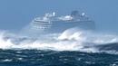 Корабли в 9 балльный шторм, что происходит. Ships in a 9 point storm that happens.