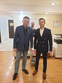 ️ Сегодня состоялась встреча Руководителя Всероссийской Молодежной организации ЛДПР Коршункова Владислава с Руководителем федерального