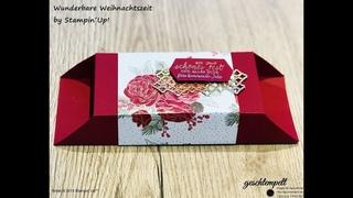 Große Verpackung wunderbare Weihnachtszeit - eine Anleitung mit den Produkten von Stampin´Up!