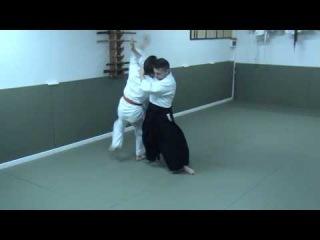 Айкидо Ёсинкан Дасэйкан (合気道 正面 突き 自由技) - Aikido Yoshinkan shomentsuki jiuwaza in Daseikan dojo
