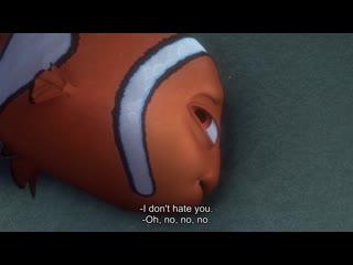 I don't hate you. -Oh, no, no, no