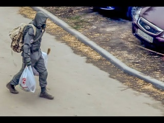 Сталкер идёт в магазин под рупор военных #карантин