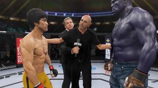 Bruce Lee vs. Ink Hulk - EA Sports UFC 4 - Dragon Fights 🔥🐲