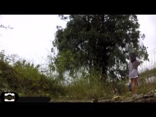 pissing на поляне