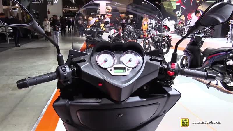 2018 Keeway Silverblade 250 Scooter - Walkaround - 2017 EICMA Motorcycle Exhibition
