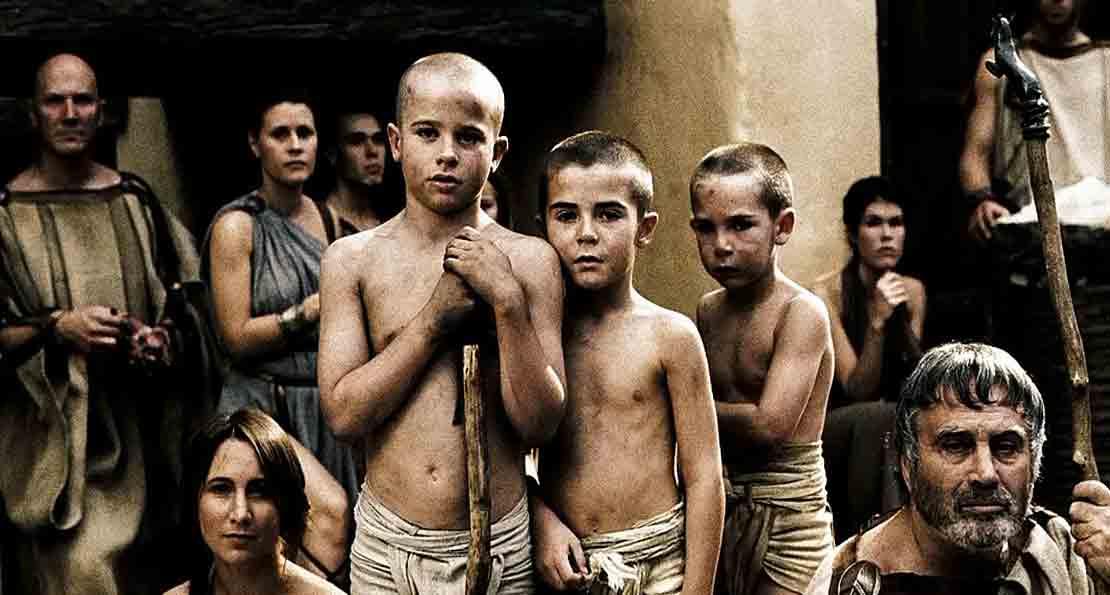 Дети спартанцев
