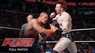 FULL MATCH - John Cena vs. Sheamus: Raw, May 17, 2010