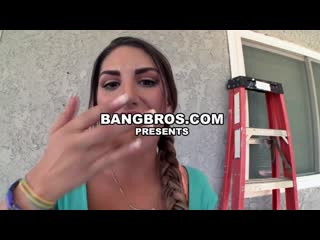 Sexy White Girl With A Fat Booty[August Ames]