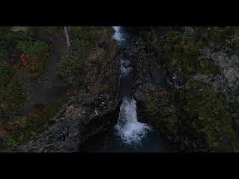 Хибины, Водопад на реке Рисйок, Природа, Красивая природа, Khibiny, Waterfall on the Risyok River,