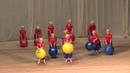 Танец Цветные горошинки - студия Серпантин