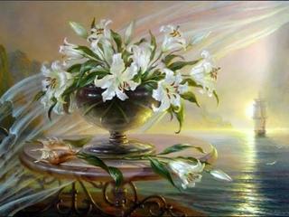 Доброе утро! Цветы художницы Веты Любимовой