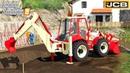 Farming Simulator 19 - BACKHOE LOADER Digging The Dirt At A Construction Site