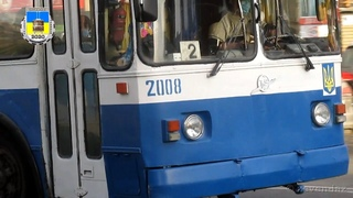 Черкасский троллейбус- ЗиУ-683Б №2008